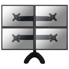 """Image for product 'Newstar FPMA-D700DD4 LCD bureausteun [32kg, 19"""" - 30"""", 75 x 75 mm, 100 x 100 mm, 0 - 700mm, Black]'"""