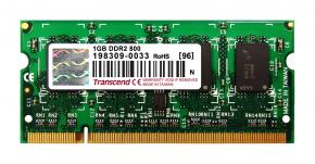 Image for product 'Transcend TS128MSQ64V8U SO-DIMM [1GB DDR2 800 CL6]'