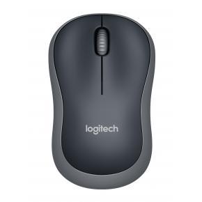 Image for product 'Logitech M185 Wireless optical mouse [RF, Optical, 1000DPI, 1x AA, 10m, Swift grey]'