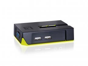 Image for product 'LevelOne KVM-0222 2-Port USB KVM Switch'