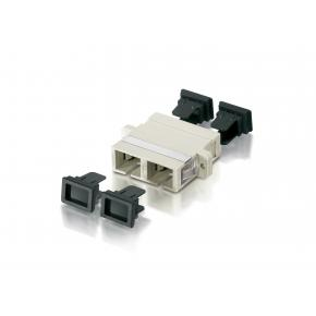 Image for product 'Equip 156140 SC-Duplex Multimode Adapter w. metal sleeve'