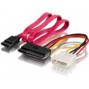 Image for product 'Equip 112054 Internal SATA power & data cable 0,15m & 0,50m'