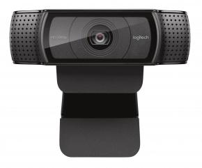 Image for product 'Logitech C920 HD Pro webcam [USB2.0, 15MP 1920x1080 Full-lHD, H.264, Microphone, Black]'