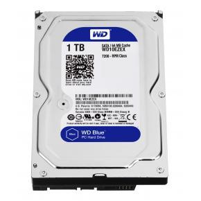 Western Digital WD10EZEX CAVIAR BLUE HDD [1TB, 3.5 inch, SATA3, 64MB, 7200RPM, 150 MiB/s, 6.8W]