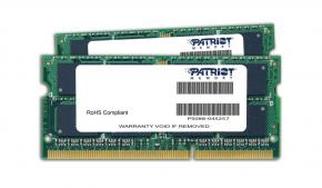 Image for product 'Patriot PSD316G1600SK SO DIMM [16GB 1600MHZ DDR3 SODIMM KIT]'
