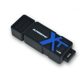 Image for product 'Patriot PEF16GSBUSB SUPERSONIC BOOST XT [16GB, USB3.0, upto 150 MB/s, Black]'