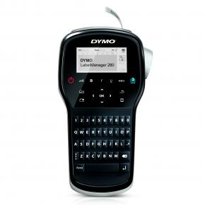 DYMO LABELMANAGER 280 QWERTY [Thermal transfer, Black,Silver, LCD, 1.2 cm, D1]