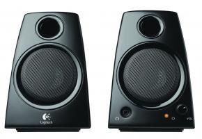 Logitech Z130 Speakerset [2.0 CH, 5W, 2-way,, 2x Satellite, 1x Tweeter, 3.5mm, Black]
