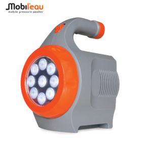 Mobileau Portable Rechargable Battery & LED Flashlight