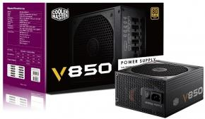 Image for product 'Cooler Master RS850-AFBAG1-EU V850 [ATX 850W 135mm 4+4pin, 20+4pin]'