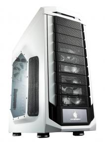 Image for product 'Cooler Master SGC-5000W-KWN1 Stryker Full-Tower [ATX, 5.25 x8, 3.5 x8, fans x4, Black/White w/ LED]'