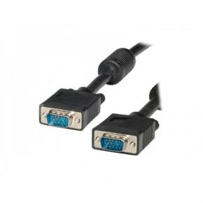 Image for product 'ADJ ADJKOF21045280 VGA cable [VGA/VGA M/M 15 Pin with Ferrite Cores 30m Black]'