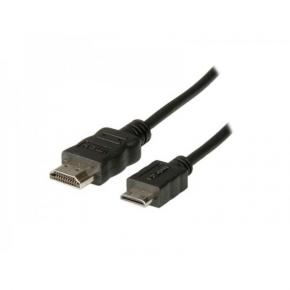 Image for product 'ADJ ADJKOF21045579 AV Cable [HDMI Type A/HDMI Type C M/M High Speed Screened 2m - Black]'