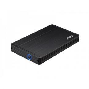 """Image for product 'ADJ 120-00006 Stone Externe harde schijf Behuizing  [2.5"""", USB3.0, SATA, LED, Black]'"""