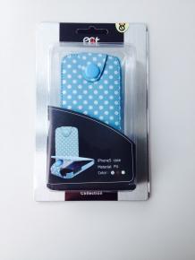 Ecat ECCLTIP501BP iPhone5 Case Blue-White
