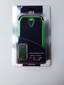Ecat ECCLTIP603G Samsung Galaxy S4 Case Black/Green