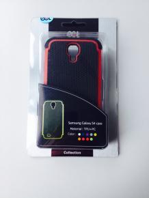 Ecat ECCLTIP603R Samsung Galaxy S4 Case Black/Red
