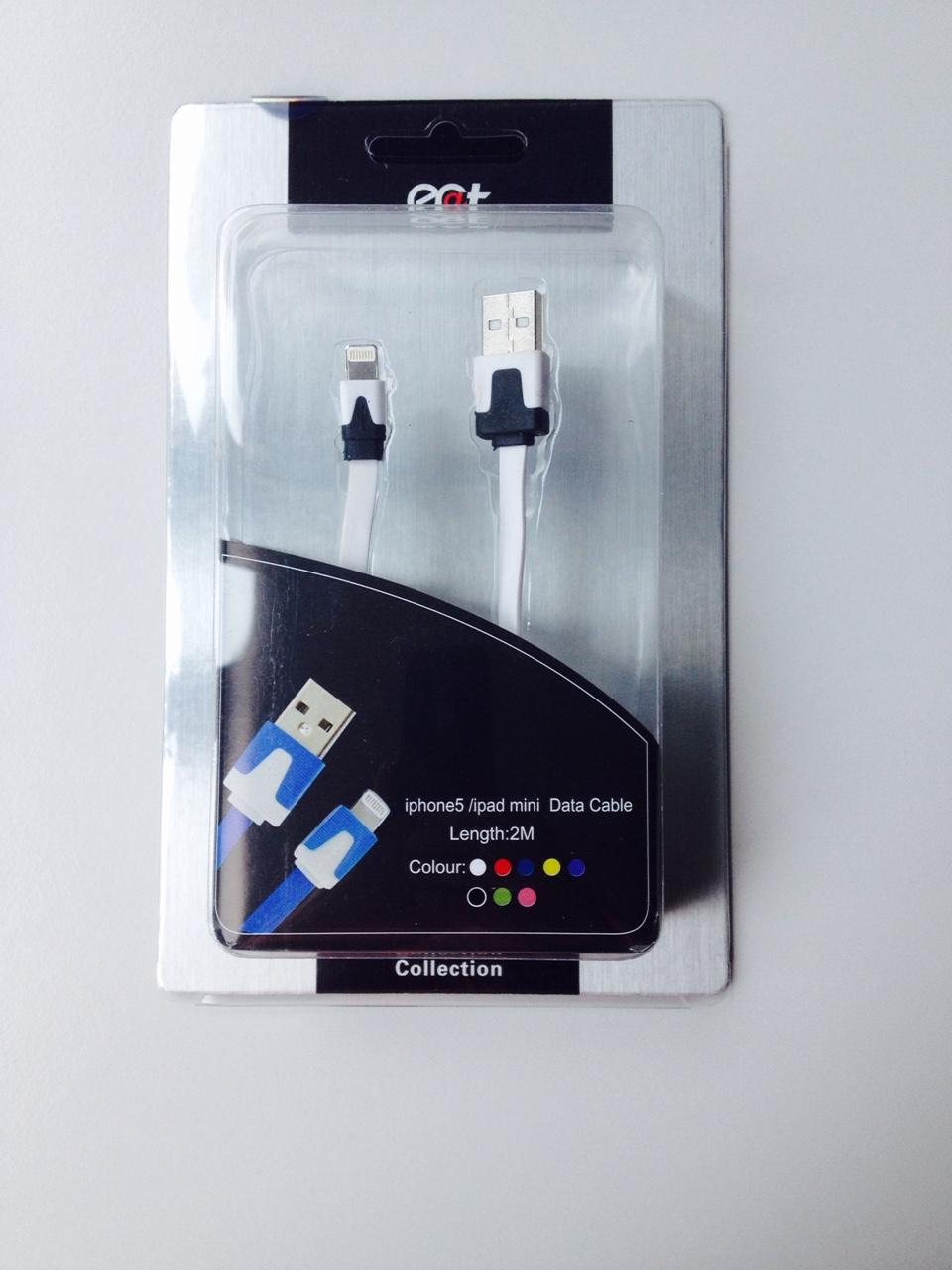 Ecat ECCLTDCIPM502W  iPhone5 / iPad mini Data Cable 200cm White