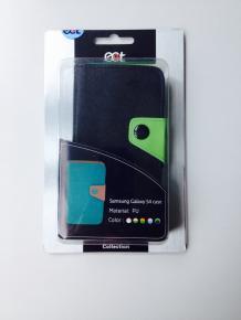 Ecat ECCLTIP605BG Samsung Galaxy S4 case [Zwart/Groen]
