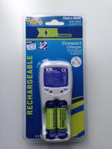 Battery Charger 2 or 4 AAA/AA included 2x AA