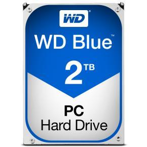 Western Digital WD20EZRZ BLUE Desktop HDD [2TB, 3.5 inch, SATA3, 64MB, 5400 RPM, 147 MiB/s, 4.1W]