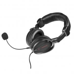 Modecom S-MC-828-STRIKER MC-828 STRIKER HEADPHONES W/ MICROPHONE [3.5mm, 30Hz-16KHz, 108dB, 1.2m]