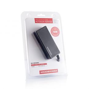 Modecom ZL-MC-1D48DE MC-1D48DE DEDICATED POWER ADAPTER FOR DELL LAPTOPS [48W, >86%, OVP]