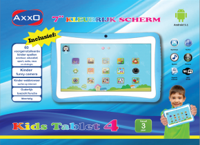 "Product-details of AXXO KIDS TABLET BLUE [7"" capaciti..."