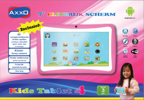 "Product-details of AXXO KIDS TABLET PINK [7"" capaciti..."