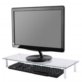 Newstar NSMONITOR10 LCD/CRT monitor standard/lifter [1x 25kg max, transparant modern design]