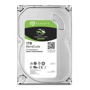 Seagate ST1000DM010 BarraCuda HDD [1TB, 3.5 inch, SATA3 6Gbps, 7200RPM, 64MB, 210MB/s, 6 ms, 5.3W]