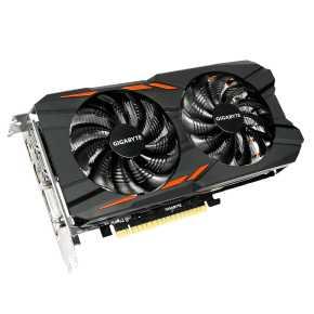 Image for product 'Gigabyte GV-N105TWF2OC-4GD Nvidia GTX1050Ti WINDFORCE OC [4096MB 128-bit GDDR5, 768sp, 300W 5-Phase]'