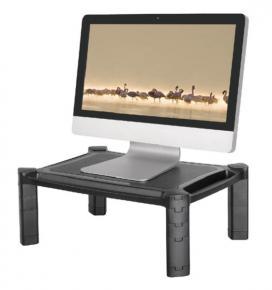 Newstar NSMONITOR20 bureau steun/ verhoger voor monitoren/ notebooks [1x 10-32 inch, 10kg, Black]