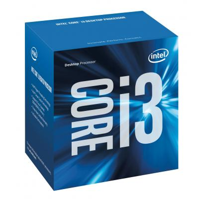 Image for product 'Intel BX80677I37100 Corei3 7100 [LGA1151, 3.9Ghz Dual-Core HTT 3MB, HD630, Kaby Lake, 14nm, BOX]'