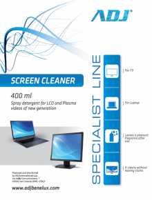 ADJ 100-00024 Screen Cleaner [Spray, 400ML]