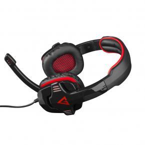 Modecom S-MC-829-ALIEN-RED MC-829 VOLCANO ALIEN RED HEADPHONES W/ MICROPHONE [20Hz - 20KHz, 112dB]