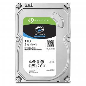 Seagate ST1000VX005 SkyHawk Surveillance HDD [1TB, 3.5 inch, SATA3, 64MB, 7200 RPM, 180 MB/s, 5.6W]