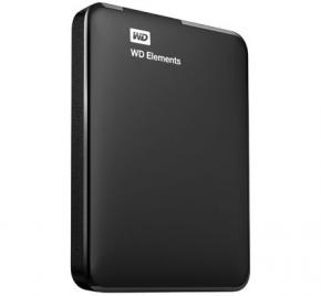 "Product-details van Western Digital WDBU6Y0020BBK-WESN Elements SE Black External HDD [2TB, 2.5"", USB3.1 Gen1, 5400RPM]"