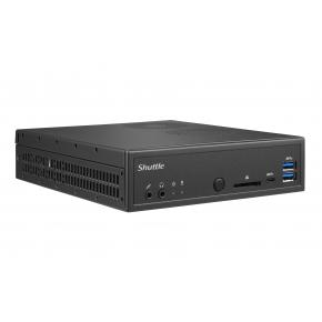 Image for product 'Shuttle DH270 XPC Slim Barebone [LGA1151, Intel H270, 2x DDR4 SO-DIMM, USB3.0, CR, GBLAN, Black]'
