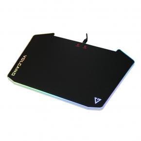 Image for product 'Modecom PM-MC-VOLCANO-RIFT-V2 VOLCANO RIFT V2 RGB LED MOUSEPAD [Micro-USB, Anti-Slip, pvc]'