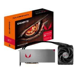 Image for product 'Gigabyte GV-RXVEGA64X W-8GD-B AMD RX VEGA 64 WATERCOOLING 8G [8GB HBM2 2048-bit, Watercool, 1000W]'