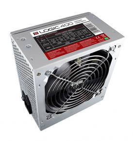 Image for product 'Logic Concept  AT-H001-10-LOG400A-0002 Logic 400 Power Supply [ATX2.2, 400W, OLP/OCP/SCP,, Silver]'