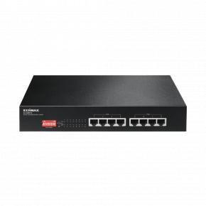 Image for product 'Edimax ES-1008P V2 8-Port long range Fast-Ethernet POE+ Switch [4x 10/100Mbps, POE+,VLAN, QoS, CCTV]'