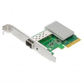 Image for product 'Edimax EN-9320SFP+ 10 Gigabit Ethernet SFP+ server adapter [PCIe 2.0 x4, 10 Gbps, QoS, VLAN]'