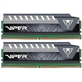Image for product 'Patriot PVE432G240C5KRD Viper Elite Series DIMM kit [DDR4, 32GB (2 x 16GB), 2400MHz, CL16, 1.35v]'