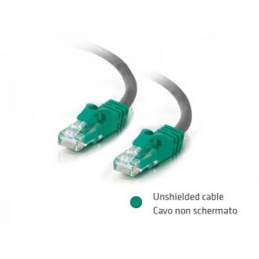 Image for product 'ADJ 310-00028 Networking Cable [UTP, Cat5, 5m, Silver/ Green]'