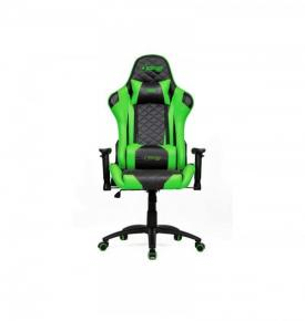 Image for product 'ADJ 540-00003 ADJ Perseus Gaming Chair - Black/Green'