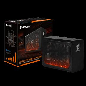 Image for product 'Gigabyte GV-N1080IXEB-8GD Nvidia GeForce® GTX1080 AORUS [eGPU Thunderbolt, 8GB, GDDR5x 256bit, 450W'