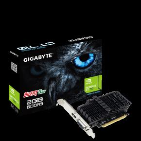 Image for product 'Gigabyte GV-N710D5SL-2GL Nvidia GeForce® GT710 [PCIe 2.0, 2GB GDDR5 64-bit, Passive, 300W]'