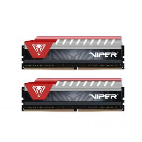 Image for product 'Patriot PVE48G280C6KRD Viper Elite Series DDR4 kit [8GB (2x 4GB), 2800MHz, DIMM, CL16, 1.2V]'